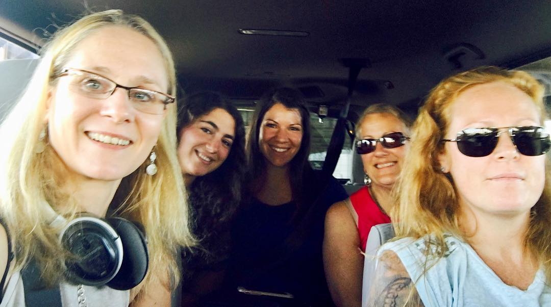 The RT crew en route to Natural Products Expo Easthellip