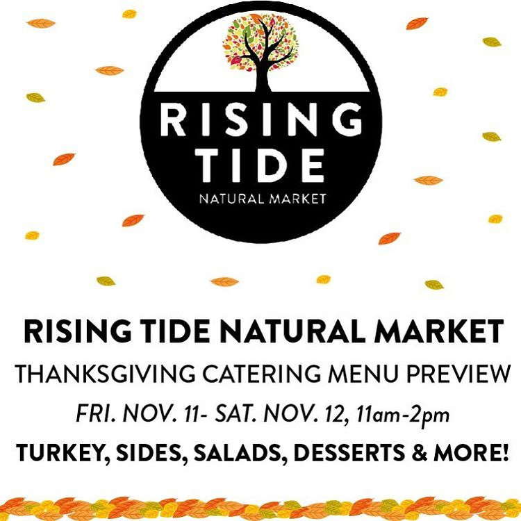 Its almost Thanksgiving! Come in to Rising Tide today fromhellip