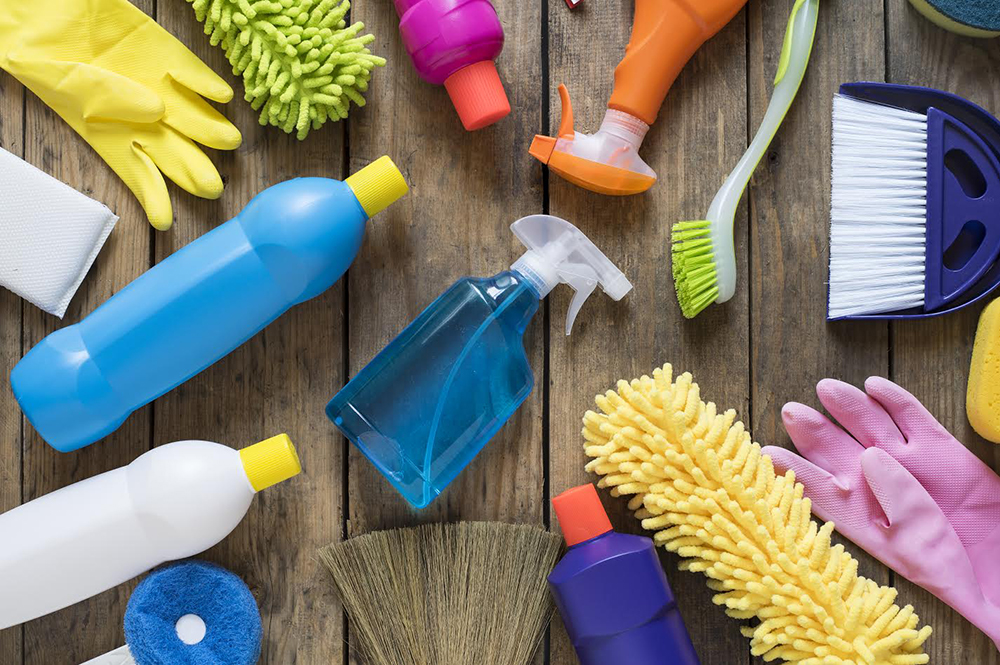 The Art of Cleaning (and Greening!) Up