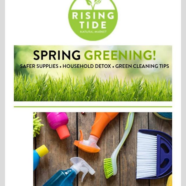 Check our March newsletter all about green cleaning supplies includinghellip