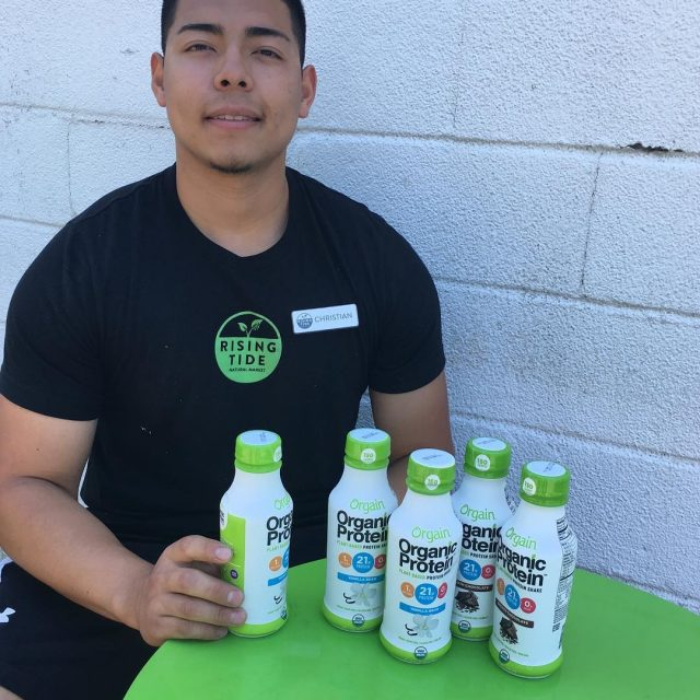 STAFF PICK OF THE WEEK Postworkout Christian loves Orgain organichellip