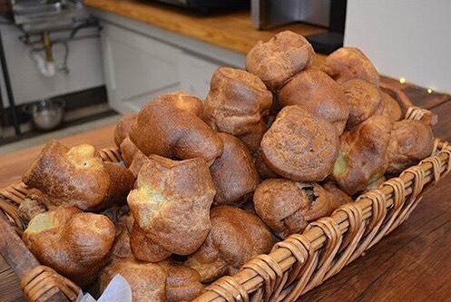 Preorder your Thanksgiving heritagebakers POPOVERS! Fluffy buttery and perfect forhellip