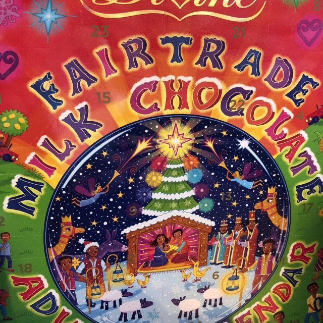 This fairtrade Advent Calendar from divinechocolateusa is a sweet wayhellip