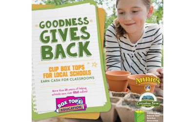 Clip Box Tops for Local Schools