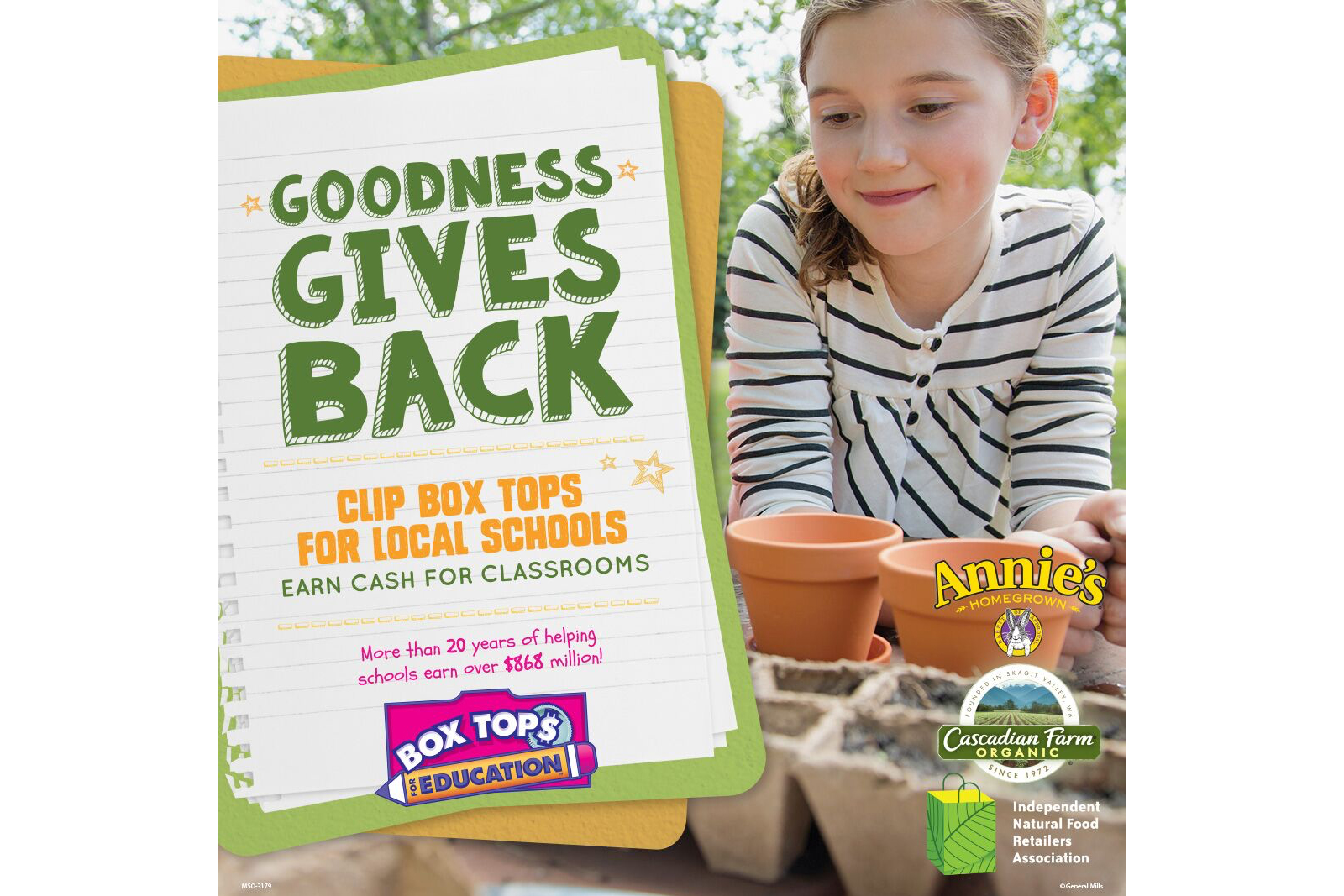 Clip Box Tops for Local Schools