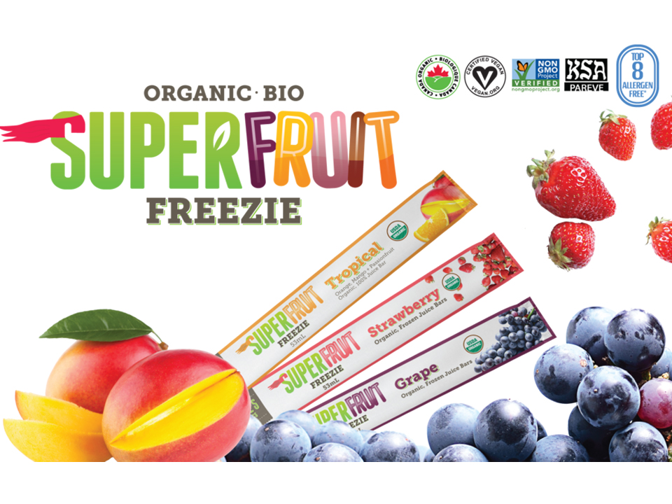 FEATURED PRODUCT: Deebee's Organics Superfruit Freezies