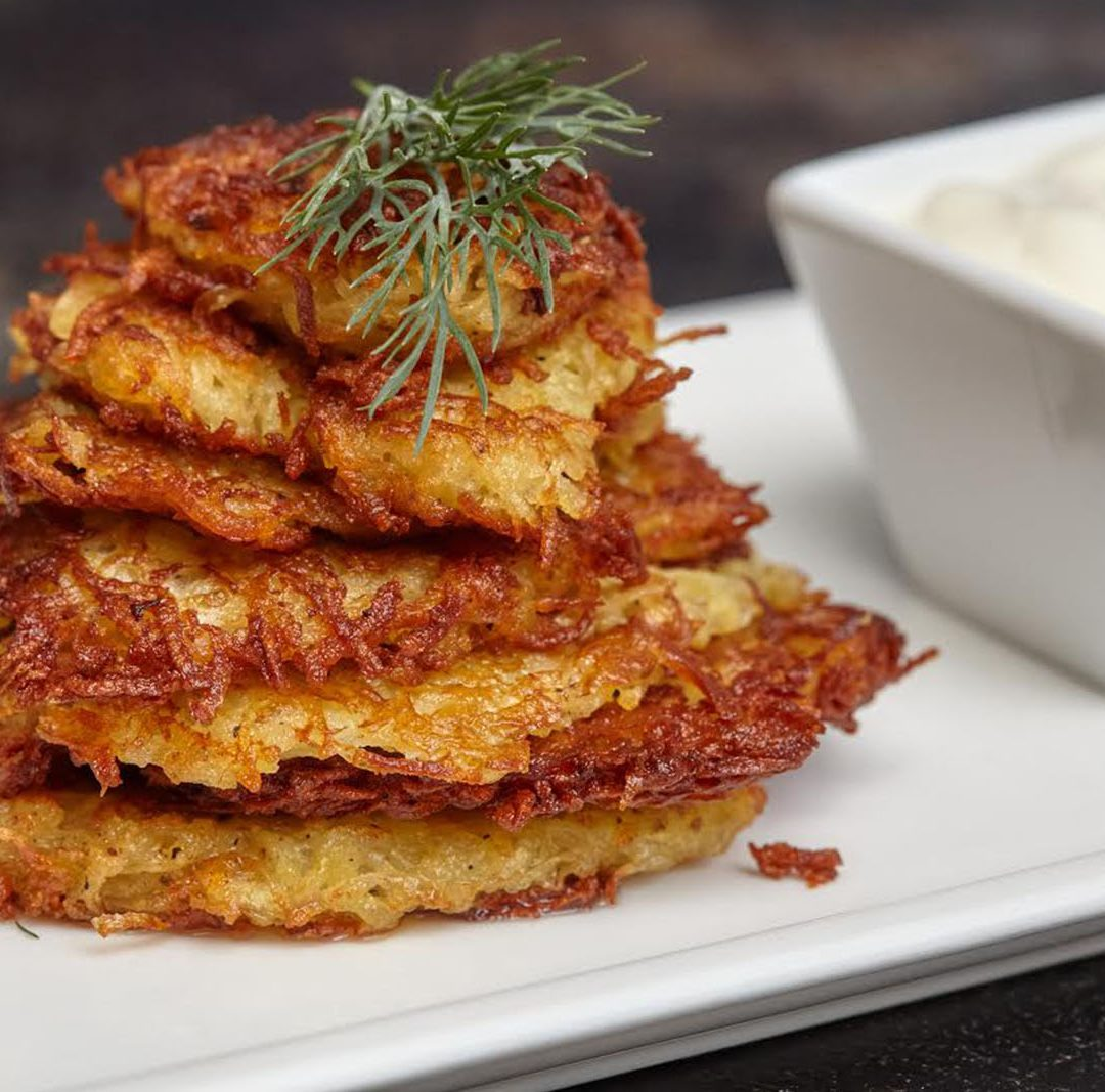 RECIPES: Not (Only) Your Grandmother's Latke