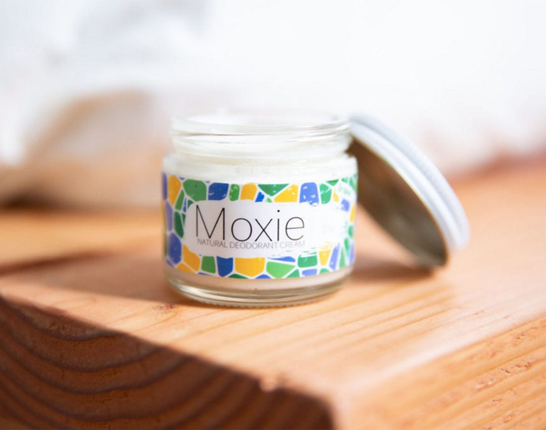 LOCAL FLAVOR: Moxie Cream Natural Deodorant
