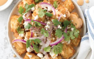 Recipes: Smothered Potato Puffs