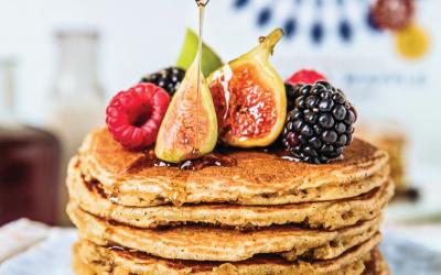 RECIPES: Maple Superfood Pancakes