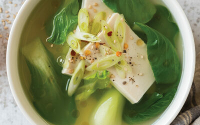 Miso Soup with Silken Tofu