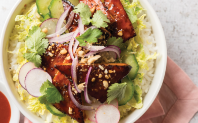 Gochujang Glazed Tofu Bowl