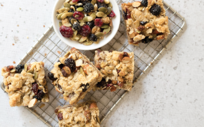 Nut Butter and Jelly Bars