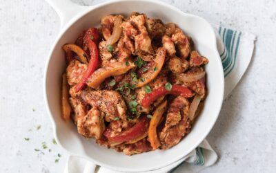 Turkey and Pepper Skillet
